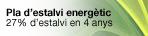 Pla d'estalvi energètic, (obriu en una finestra nova)